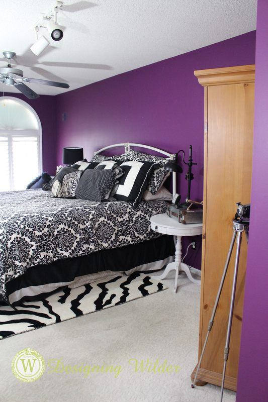 Master Bedroom Bed Wall View