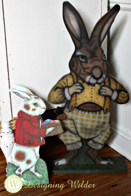 Easter Bunny stand up boards.