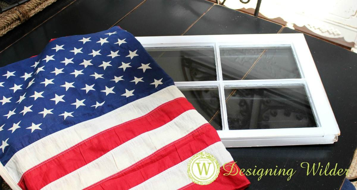 Patriotic Flag Project materials are typically inexpensive and easy to find.