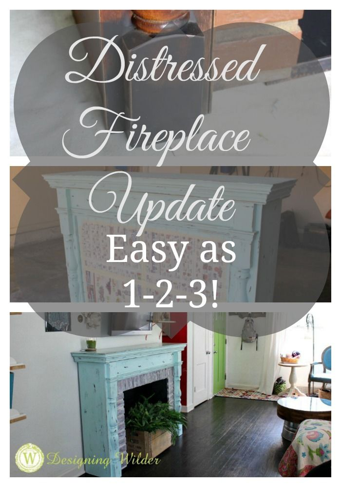 A salvaged fireplace surround gets an update that turns it into the perfect architectural show piece in this eclectic boho bungalow. A little paint and elbow grease is all that's needed!
