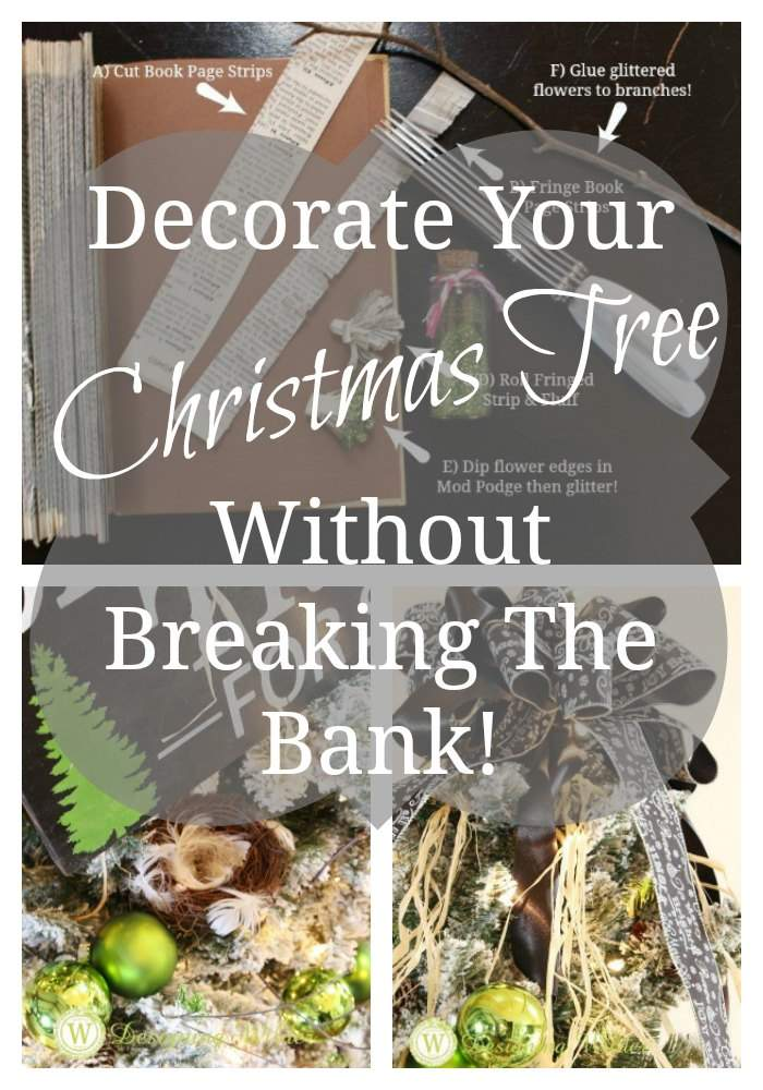 Are you ready for a little Christmas tree shake-up? DIY and budget-friendly strategies for updating your Christmas tree decor without breaking the bank!