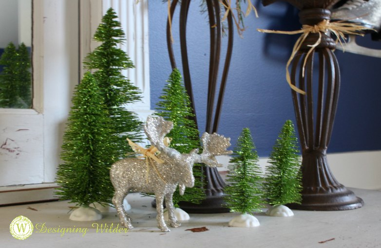 This year's goal--EASY CHRISTMAS DECORATING! Fresh greens and sparkly string lights are the perfect tools for making merry with the decor you already own!